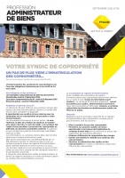 NEWSLETTER FNAIM : L'IMMATRICULATION DES COPROPRIÉTÉS
